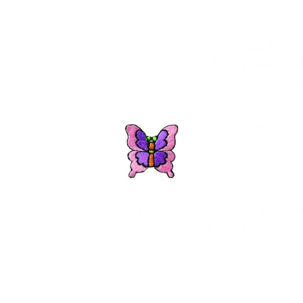 Schmetterling rosa-lila