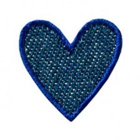 Coeur jean bleu