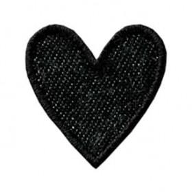 Herz Jeans schwarz
