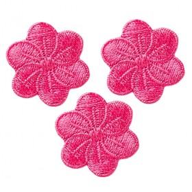 Blumen pink 3 Stk.