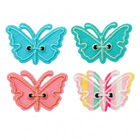 Schmetterlinge bunt 4 Stk.