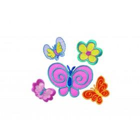Create papillons 5 motifs