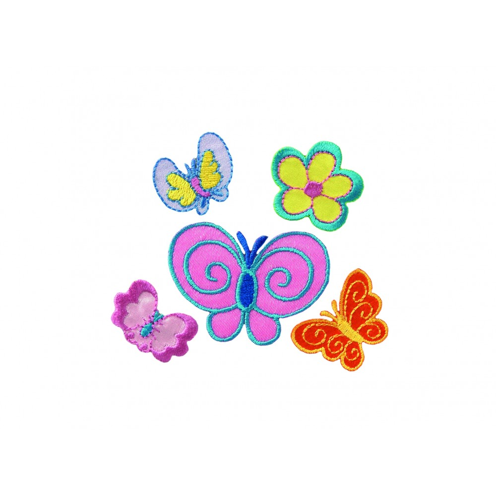 Create Schmetterlinge 5 Motive