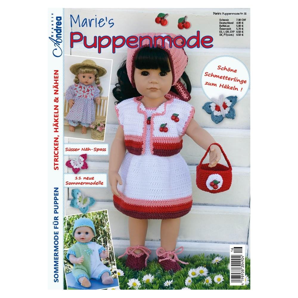 Marie's poppenmode nr 16