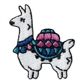 Lama farbig