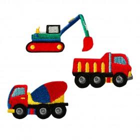 Create bouwvoertuigen 3 stuk