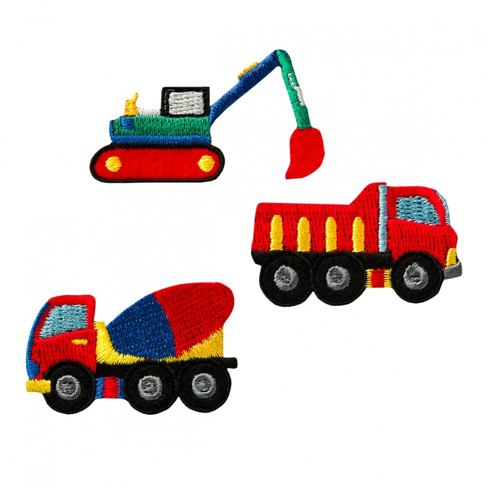 Create Baufahrzeuge 3 Stk.