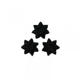 3 Sternchen schwarz