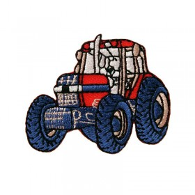 Petit tracteur rouge