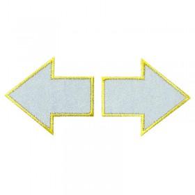Flèches réflexes 2 pièces