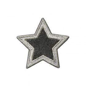 Étoile argent/gris