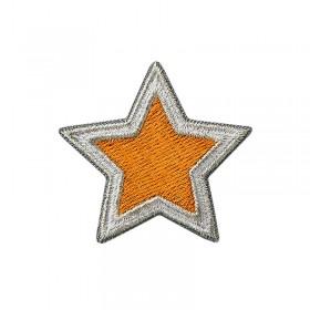 Étoile argent / terre cuite