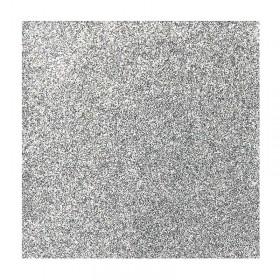 Glitzerflicken Silber