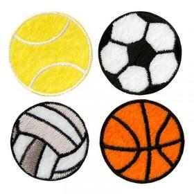 4 ballons de sport