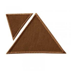 Triangles brun clair