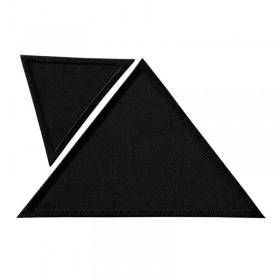 Dreiecke schwarz