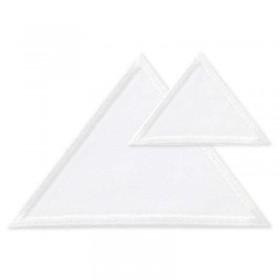 Dreiecke weiss