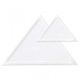 Driehoeken wit
