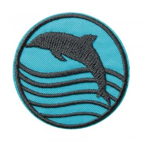 Recycl-Patch Dolfijn
