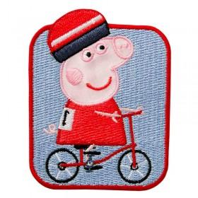 Peppa Pig© rijdt op de fiets