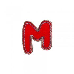 Lettre unique M colorée