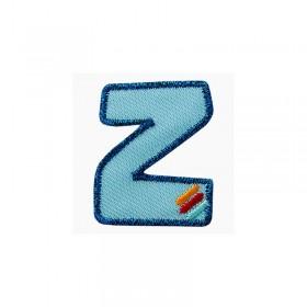 Lettre unique Z colorée