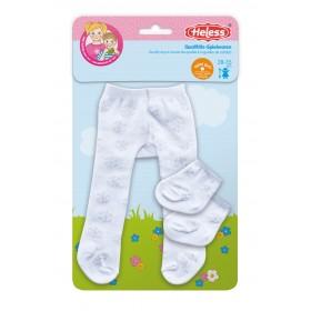 Panty met sokken...