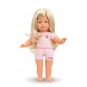 Paloma, mit blonden Haaren...