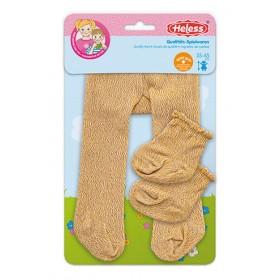 Panty's & sokken goud (maat...