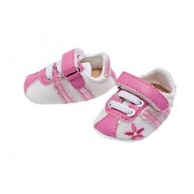 Sportschuhe, pink-weiss...