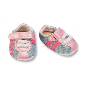 Sportschuhe, pink-grau (Gr....