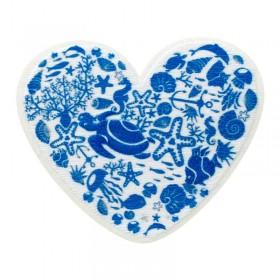 Recycl-Patch Herz Wasserwelt