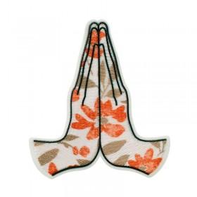 Yoga Hände Recycl-Patch