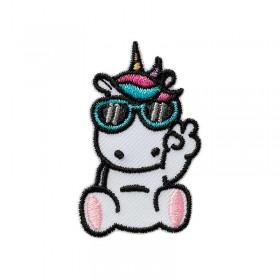 Licorne avec des lunettes
