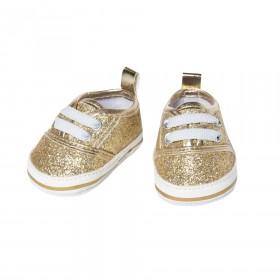 Glitzer-Sneakers, gold (Gr....