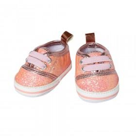 Glitter sneakers, roze...